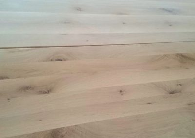 Oak panels with different thickness